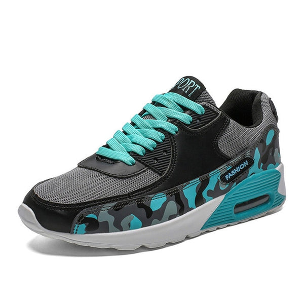 Men's Peacock Running Shoes