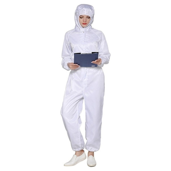 Stylish PPE Suit Reusable Protective Clothing Isolated From Human Contact