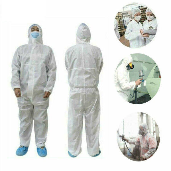 Safety Anti-Virus Coverall Suit Washable and Hooded