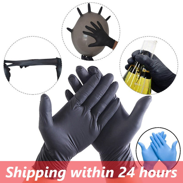 100pcs Disposable Gloves Finger Cot Nitrile Gloves