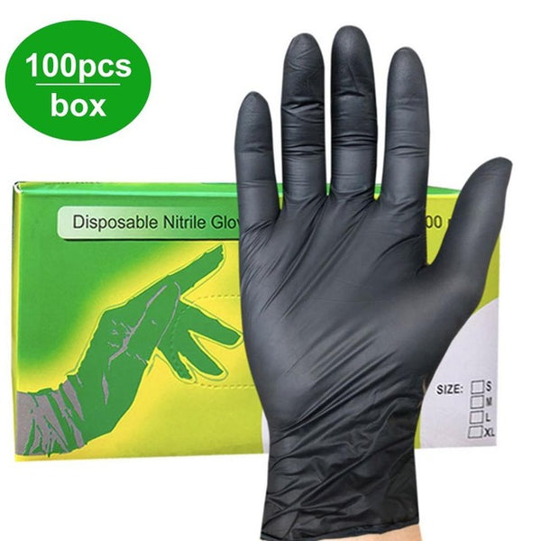 Disposable Nitrile Gloves Lasticity And Soft Texture Wear Comfortably And Flexibly Anti-Chemical 100 Pcs/Box
