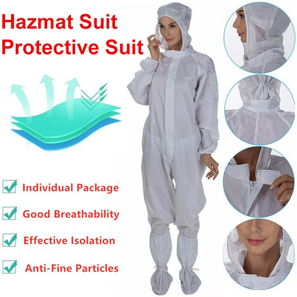 Protective Suit Coverall Hazmat Suit Effective Isolation
