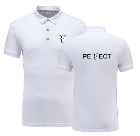 Roger Federer Summer Short-sleeve Polo