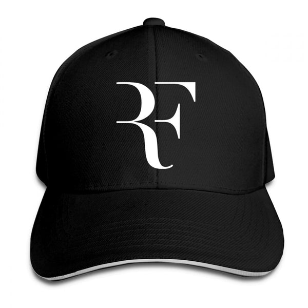 Men and Women Roger Federer RF Print Snapback Adjustable