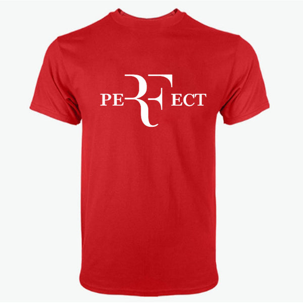 Roger Federer RF Men T Shirt Cotton O Neck
