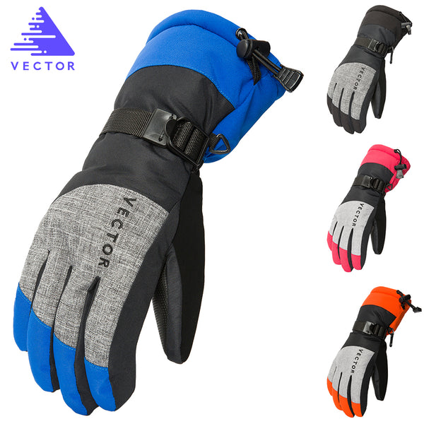 VECTOR Women Men Ski Gloves
