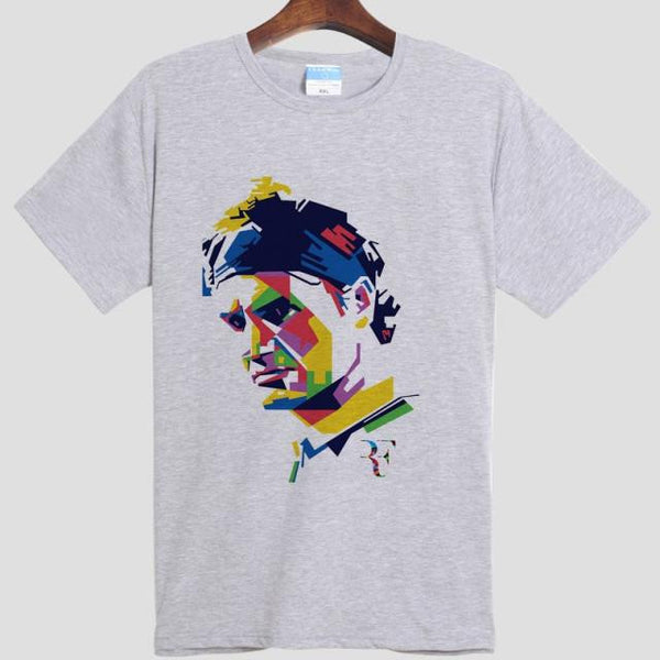 Roger Federer DIY Men's  Short Sleeve T-shirt