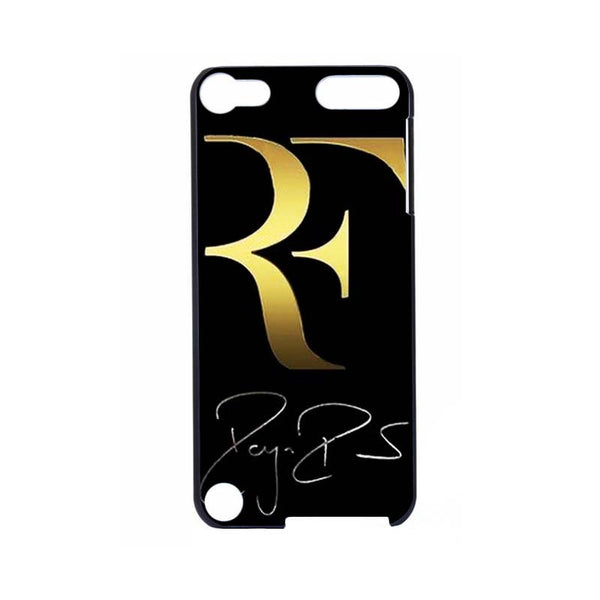 Roger Federer Hard Black Case for ipod Touch 4, 5, & 6