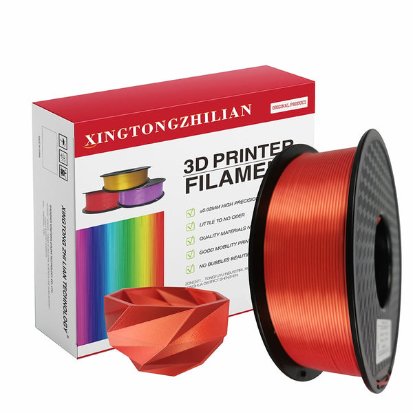PLA Filament 1.75mm, 3D Printing Filament PLA for 3D Printer and 3D Pen,Dimensional Accuracy +/- 0.02mm,1kg 1 Spool