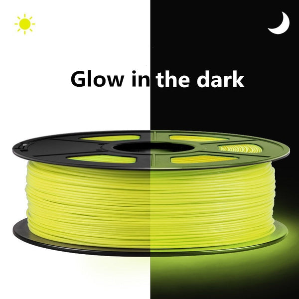 3D Printer Filament PETG Glowing In The Dark  Green Blue yellow red orange Materials  Luminous fluorescence 1.75 Mm 1Kg Printing