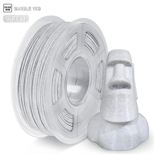 Special Color PLA Marble 3D Printer Filament 1.75MM 1KG Rock Texture  For 3D Printing Materials With Overseas fast shipping.