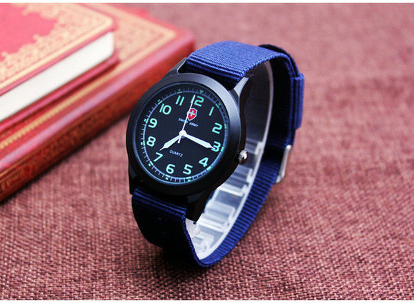 Swiss Watch Men Military Nato Strap