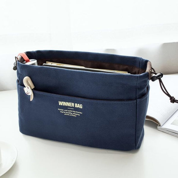 New Big Women Canvas Make Up Bag