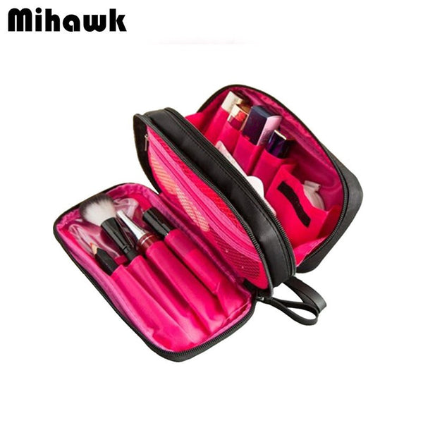 Double Layer Cosmetic Bag For Makeup