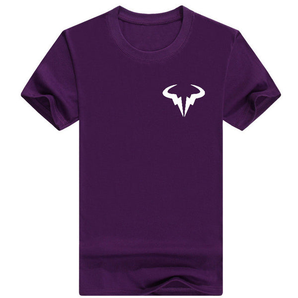 2017 New Men's Rafael Nadal Bull Logo T-Shirt