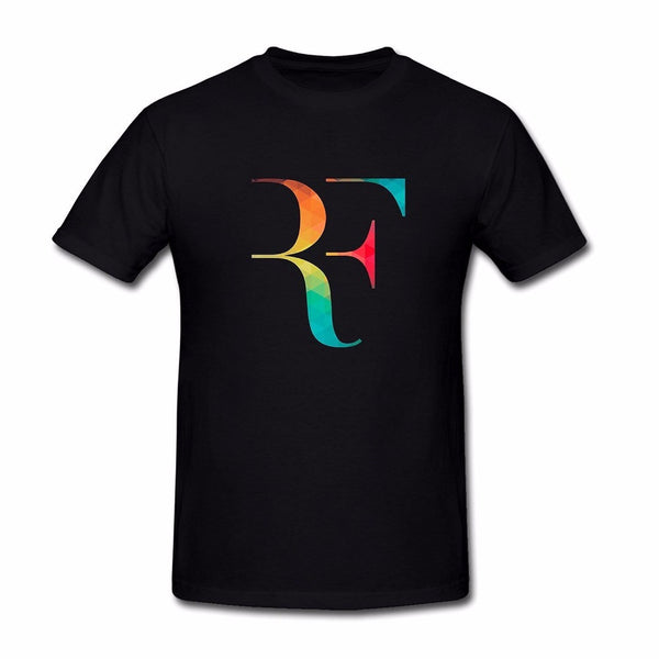 Roger Federer Vibrant Colour Logo Top