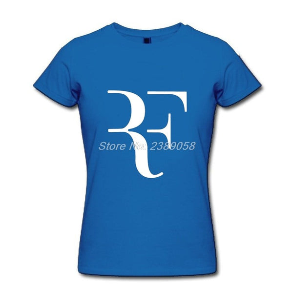 2017 Short Sleeve Comfortable Roger Federer Tops for Women