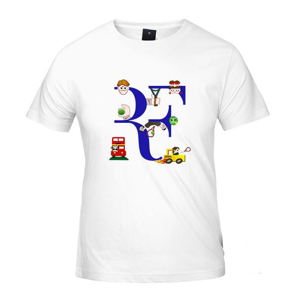 2107 Roger Slice Backhand T-Shirt