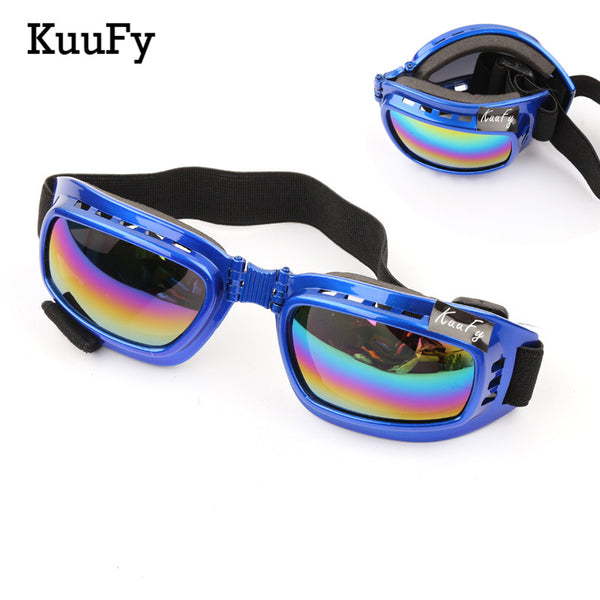 KuuFy Windproof X400 UV Protection Foldable Cycling and Ski Glasses