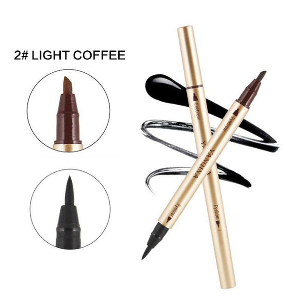 Beauty Coffee Eyeliner Liquid Double-ended