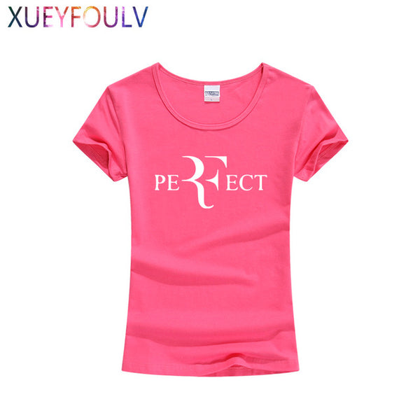 Roger Federer Female T-Shirt