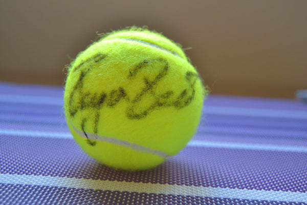 Signed Roger Federer Tennis Ball