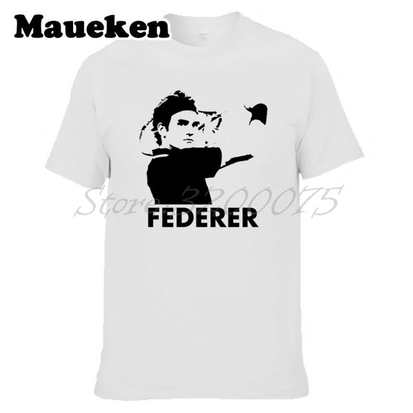 Roger Federer Backhand Slice T-Shirt