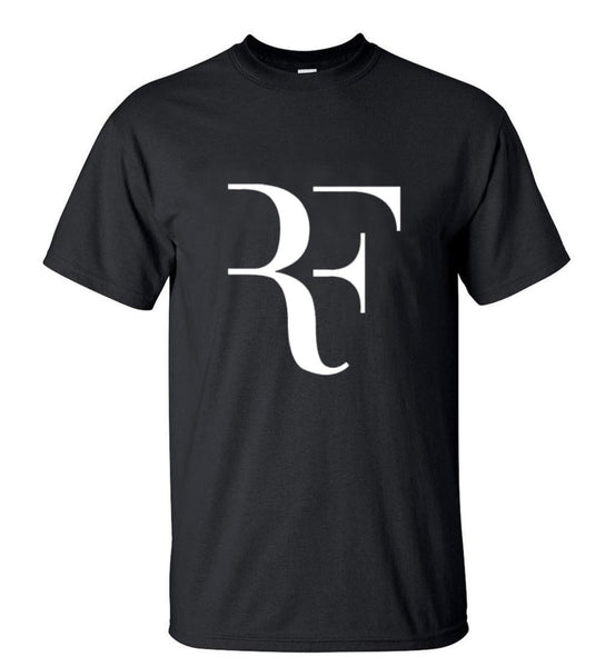 Summer Fashion RF T-shirt Mens Roger Federer Tee Shirt