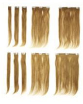 "14"" Human Hair Clip-in Extensions"