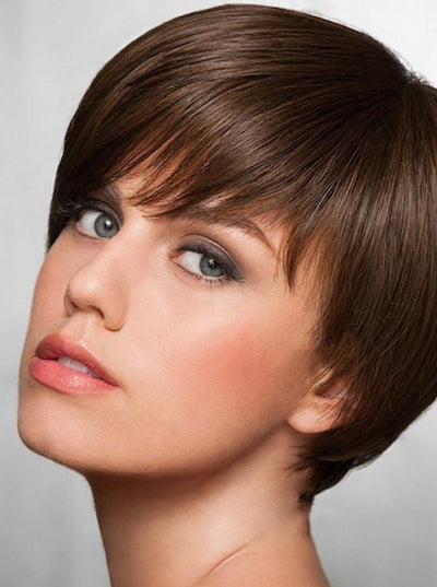 Short & Sleek - Heat-Friendly Synthetic Wig - Hairdo