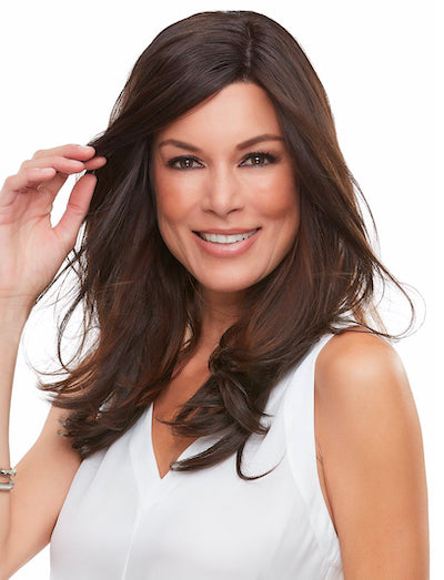 "Top Smart 18"" - Synthetic Hair Clip-In/Adhesive - Jon Renau"