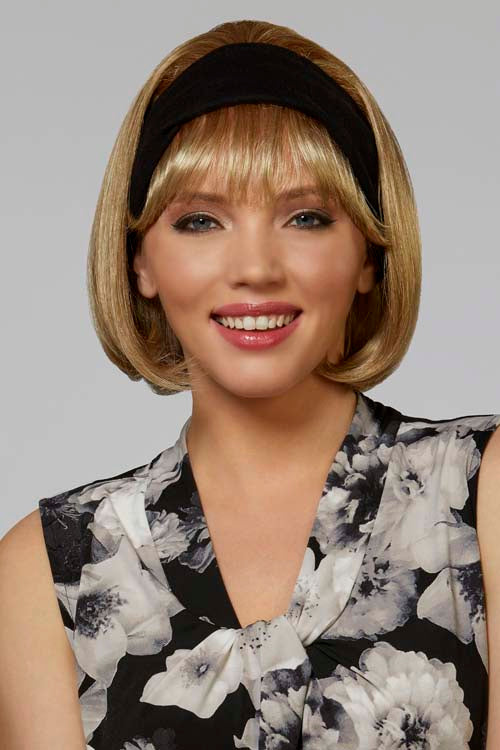 Classic Headband With Hair | Synthetic Wig
