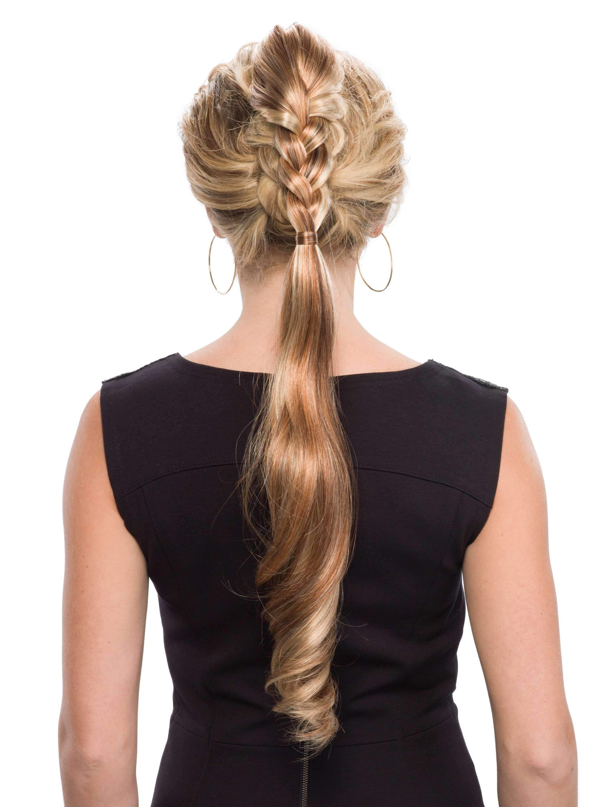 Dutch Braid Clip-On | Synthetic Hairpiece