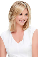 Essentially You Topper | Synthetic Hair - Monofilament Base