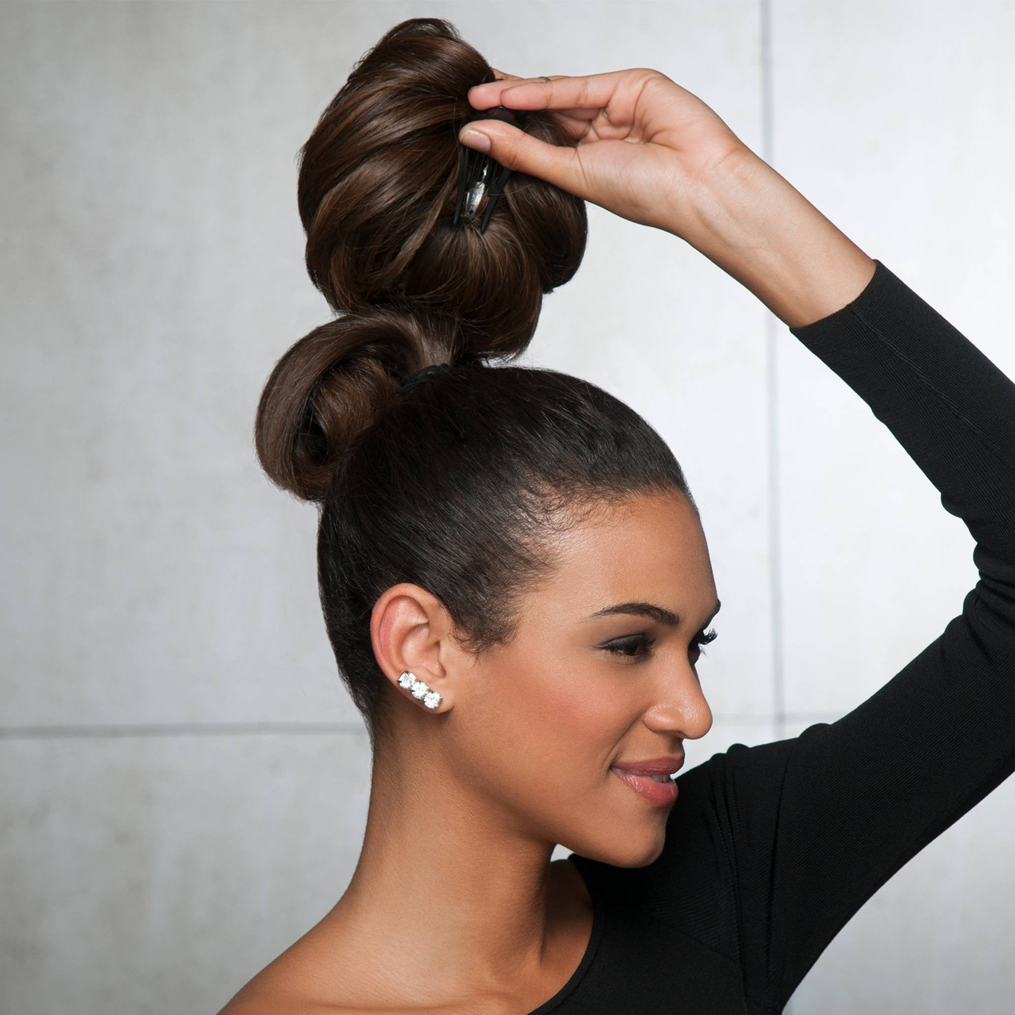 Glamour Chignon | Heat Friendly Synthetic Wrap