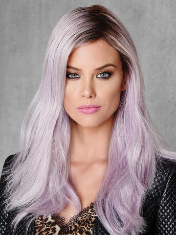 Lilac Frost | Heat Friendly Synthetic Wig (Traditional Cap)