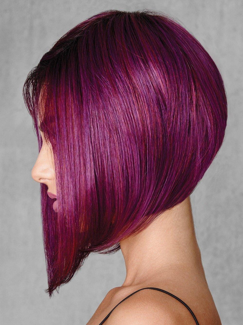 Midnight Berry | Heat Friendly Synthetic Wig (Traditional Cap)