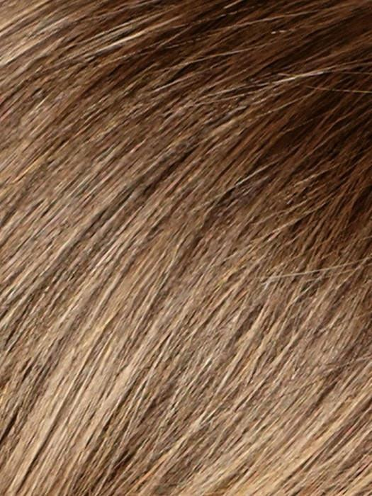 Long Top Piece Mono | Synthetic Hair Fiber - Monofilament Base