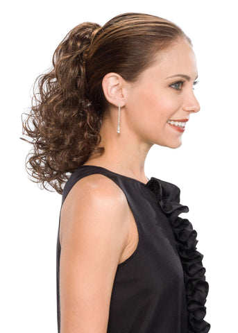 Primp Clip-On | Synthetic Hairpiece