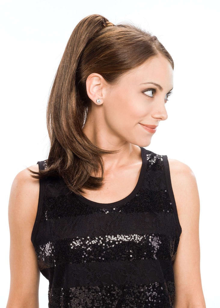 Swing Clip-On Hairpiece