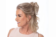 Petite Pouf HF | Heat Friendly Synthetic Ponytail (Hair Wrap )