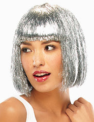 Tinsel Town | Synthetic Costume Wig (Traditional Cap)