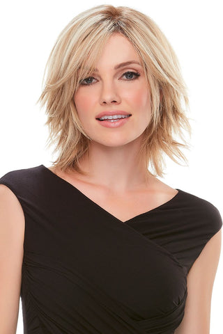 "Top Form 6-8"" Human Hair Addition 