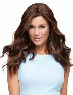 "Top Style 18"" Human Hair Addition (Renau Colors) 