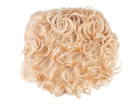 Topper | Synthetic Wiglet (Honeycomb base)