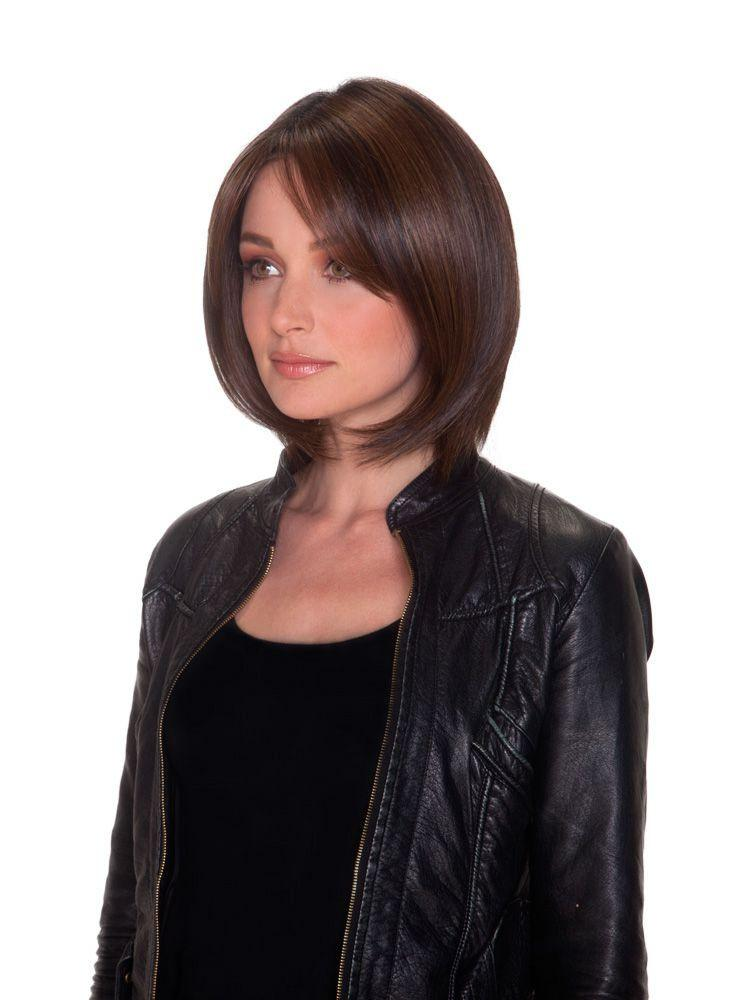 Double Shot Bob | Heat Friendly Synthetic Wig (100% Hand Tied Lace Front)