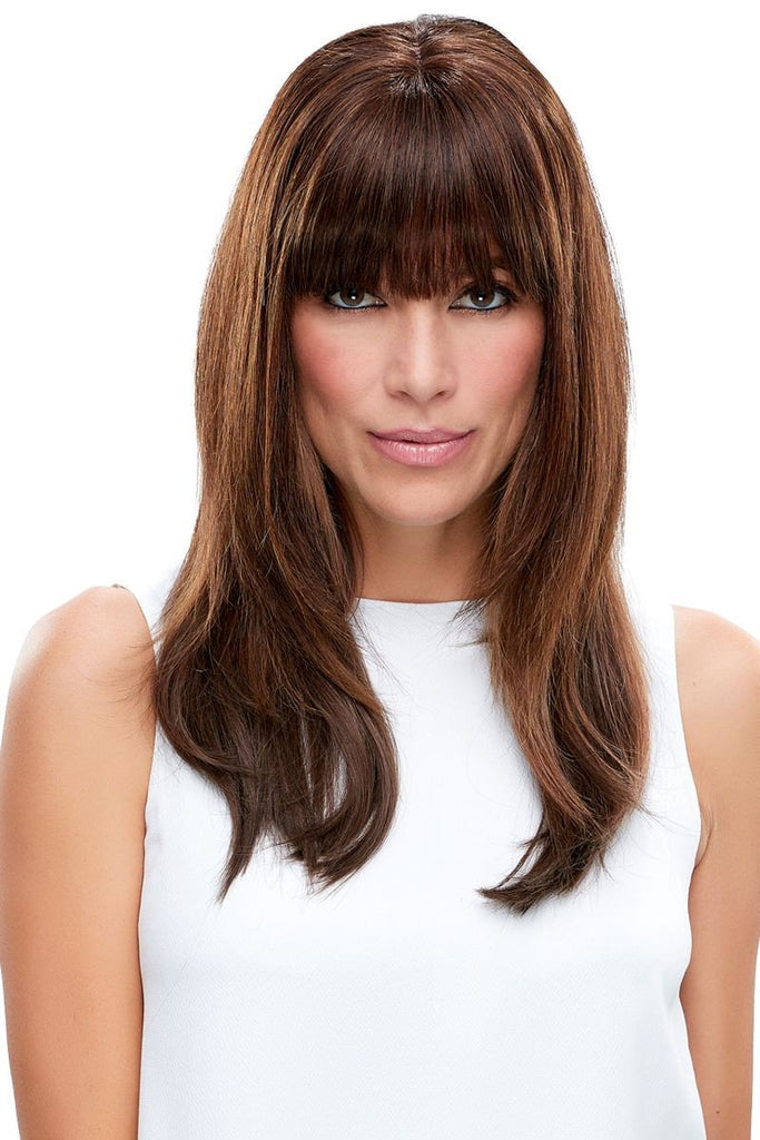EasiFringe 100% Human Hair Clip In Bangs (Renau Colors)