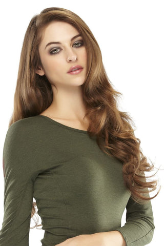 "EasiXtend Elite Human Hair 20"" Clip-In Extensions"