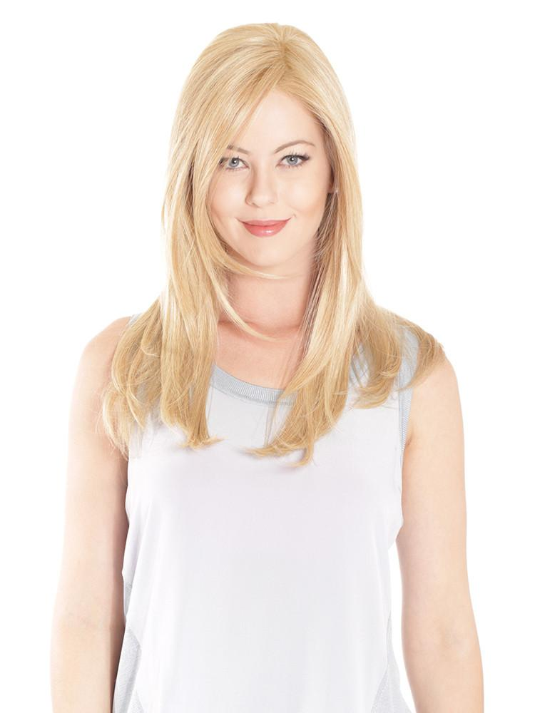 Mono Top Straight 18 | Heat Friendly Synthetic Wig (Lace Front Monofilament)