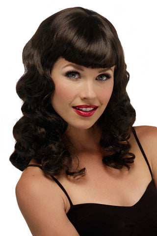Pinup | Traditional Cap | Synthetic Costume Wig